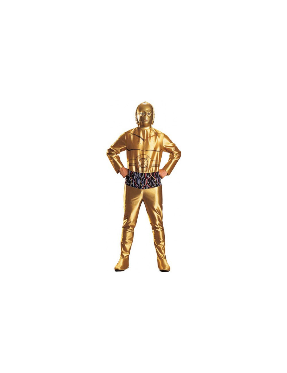 location de costume star wars robot c 3po adulte pas cher. Black Bedroom Furniture Sets. Home Design Ideas