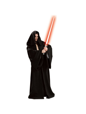 Deguisement Cape Star wars Jedi Noir
