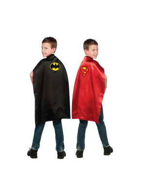 Cape Batman et Super man