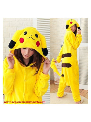 Costume Pikachu Pokemon Go