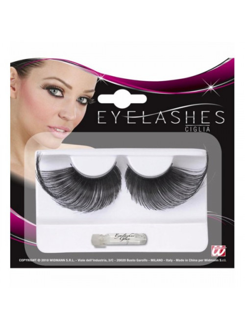 Faux Cils Extra Longs Noirs
