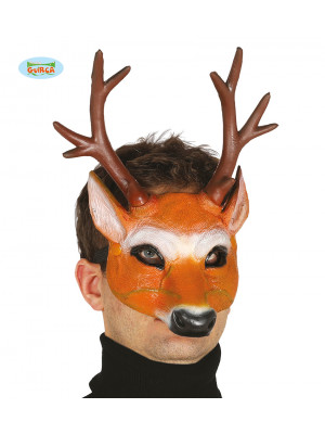 masque latex cerf