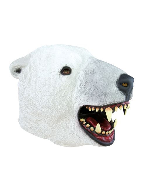 Masque adulte latex intégral ours