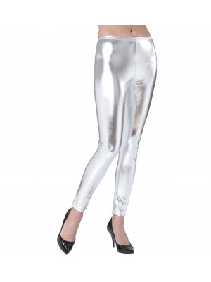 Leggings argent disco