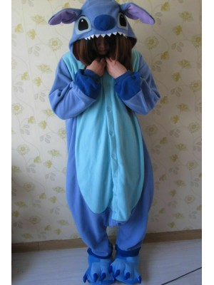 Kigurumi Pajamas Cosplay STITCH