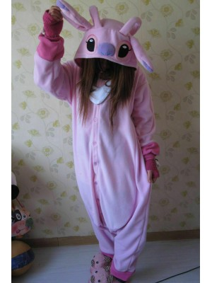 Kigurumi Pajamas Cosplay STITCH ROSE