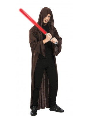 Cape jedi marron maître de la force