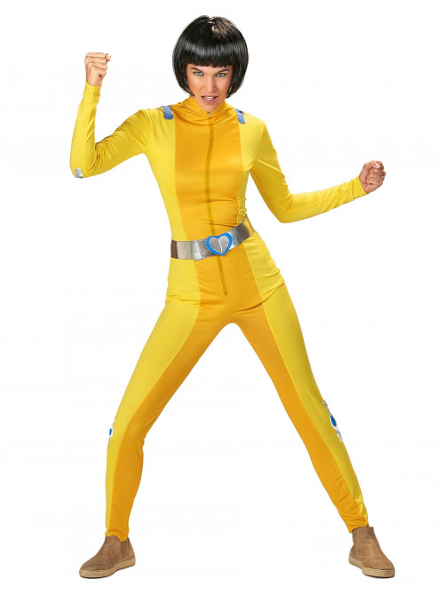 Déguisement totally spies jaune